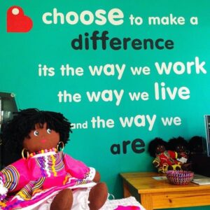 Choose to make a difference - Photo by 5 Star Hostel TheBackpack Hostel in Cape Town, South Africa
