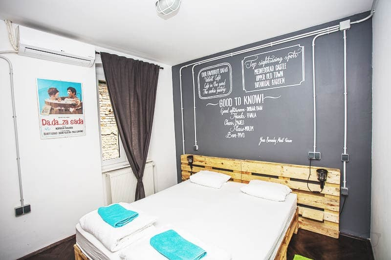 Private! A Double Room at Swanky Mint Zagreb