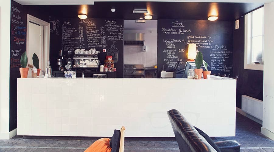 Hungry? Thursty? Head over to the bar at Hello I'm Local Haarlem
