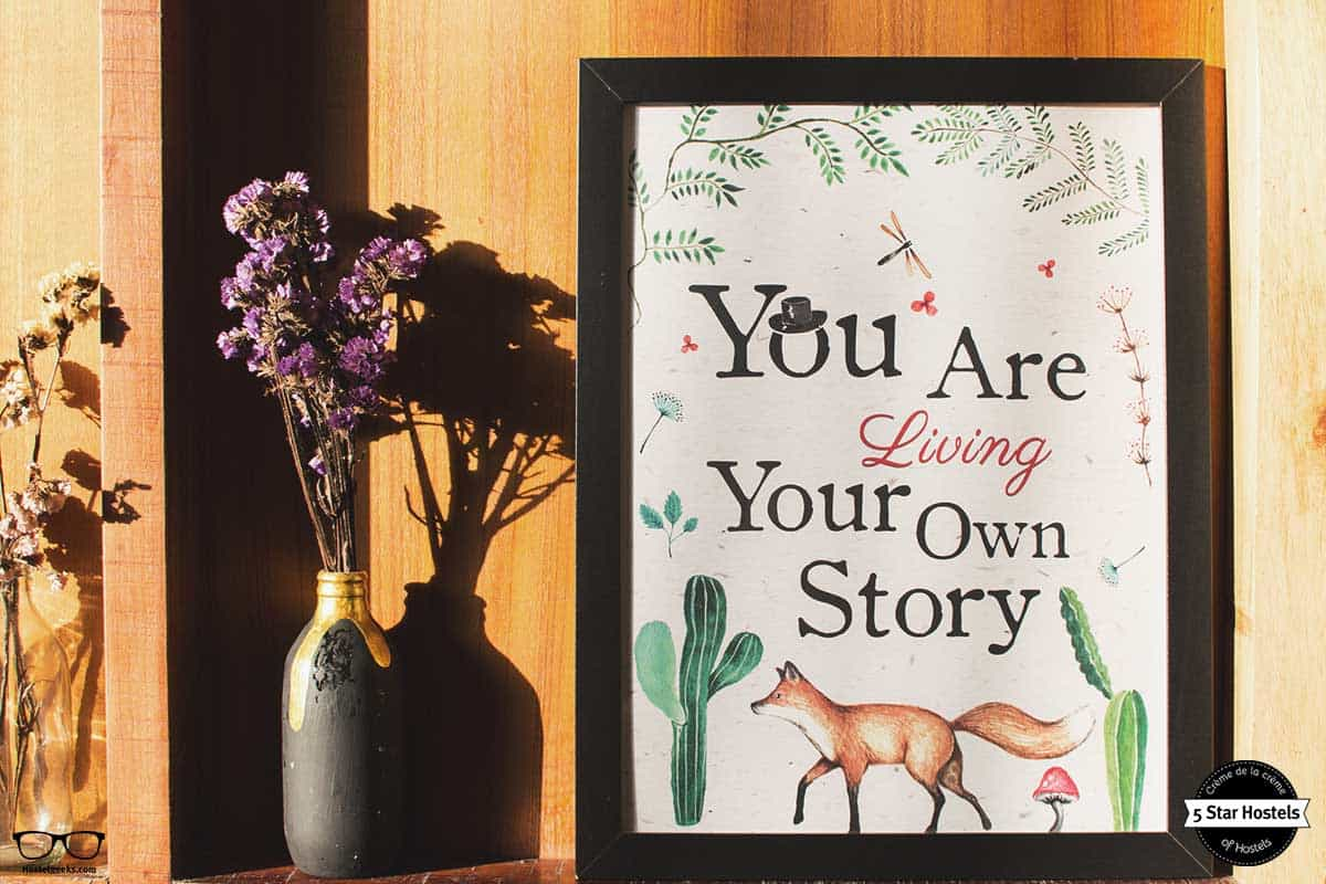 Living your story at Happynest Hostel