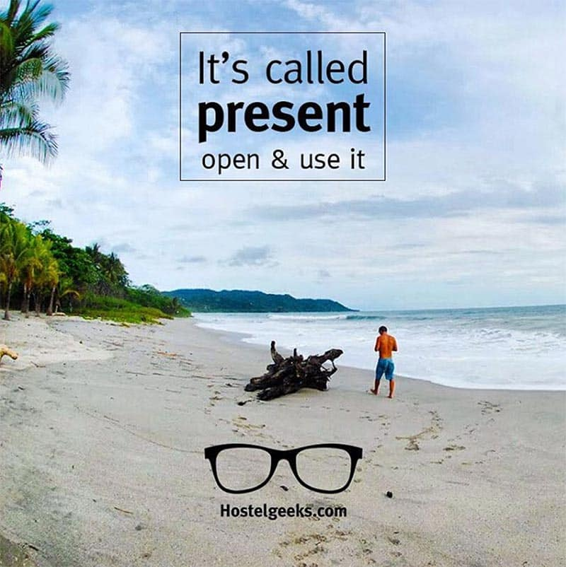 It's called present - open it & use it!
