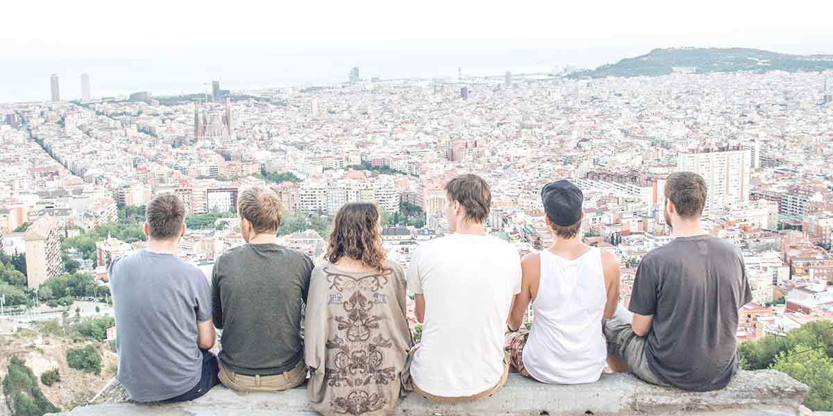 Barcelona in our footsteps