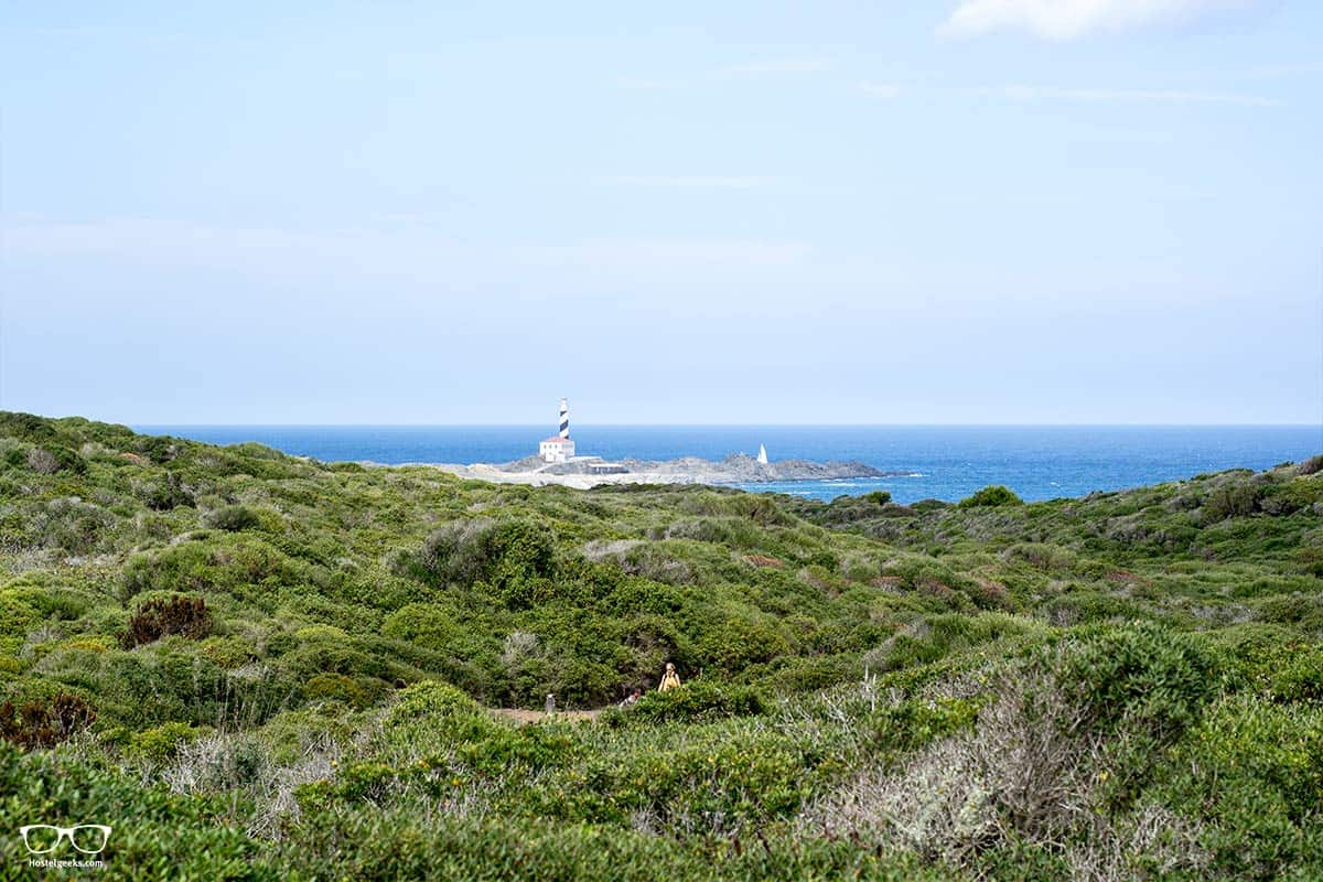 The hike to Platja d'en Tortuga