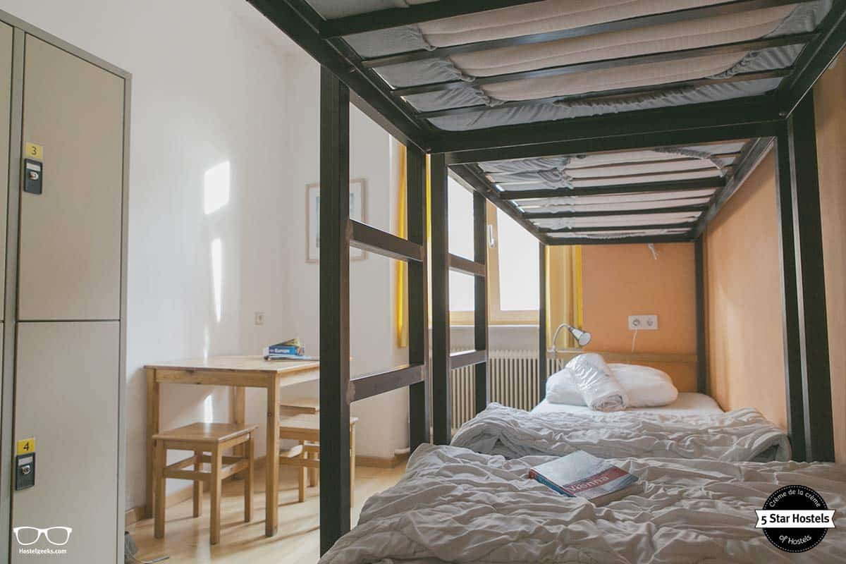 The best hostel in Vienna and its bunkbeds