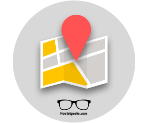 hostel map