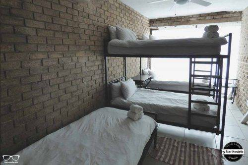 A dorm at Tsumeb Backpackers