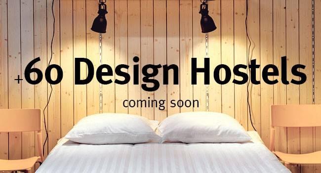 +60 design hostels around the world