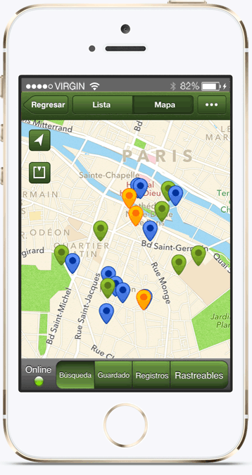 Fun Travel App for Backpackers: GeoCaching