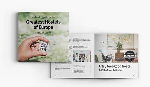 eBook best hostels Europe