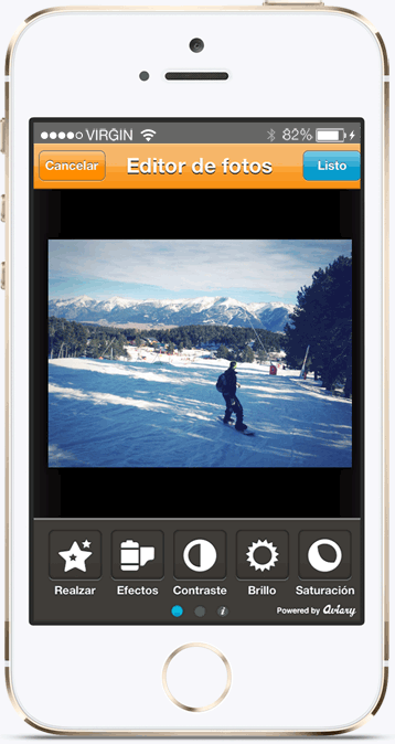 Tripcolor is a cool travel app for sending postcards to your friends and family