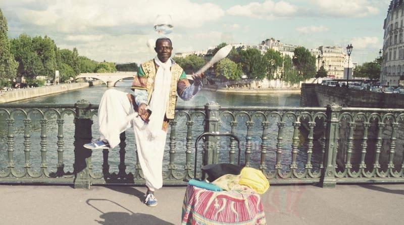 Streetartist Paris