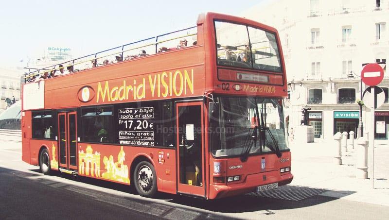 Tourist Bus in Madrid - worst Tip ever