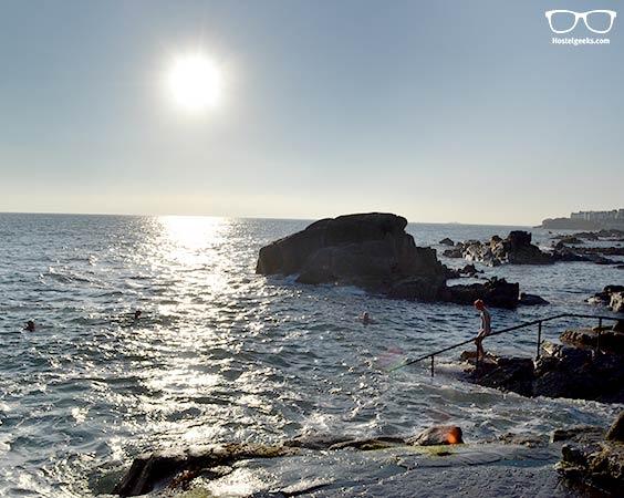 Dare to bath in the Irish Sea at 40 Foot
