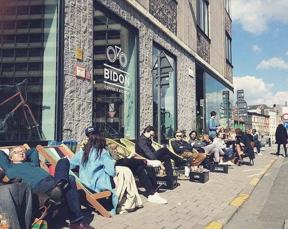 Hipster Café: BIDON Coffee & Bike Shop