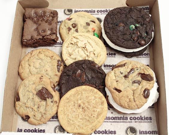 Snack: Insomnia Cookies