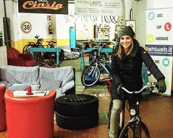 Dynamo: A Bike Hub and cafe in Bologna