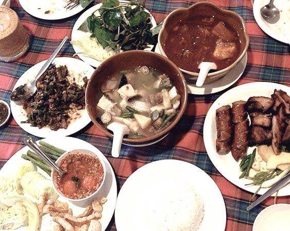 Local restaurant: Salungkham