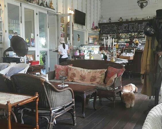 Coffee house and Spa: Chivit Thamma Da