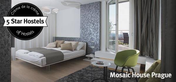 Mosaic House Prague - 5 Sterne Hostel in Prag
