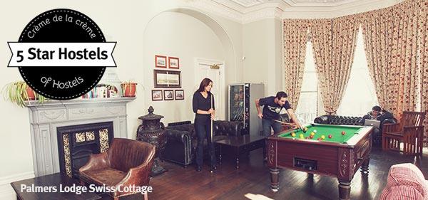 Palmers Lodge Swiss Cottage Hostel - das 5 Sterne Hostel in London