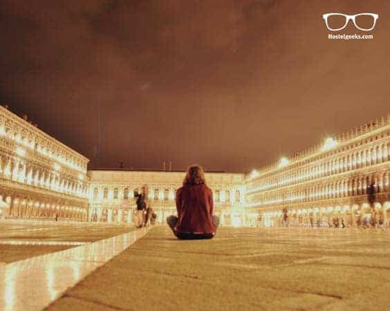 Finding peace at Piazza San Marco