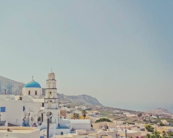 Pyrgos Santorini - awesome view!