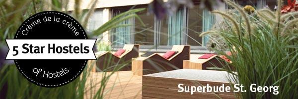 Superbude St Georg in Hamburg 5 Star Hostel