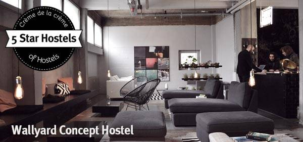 Wallyard Concept Hostel in Berlin