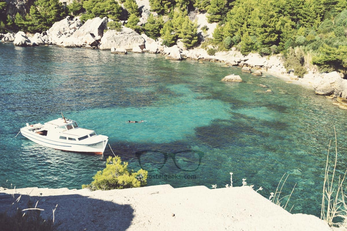 GeoCaching and Backpacking in Hvar, Croatia