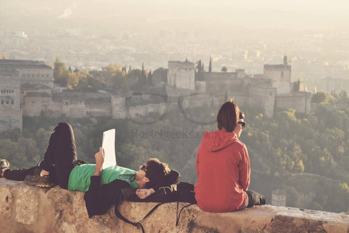 Enjoying The Beauty Of The Moment in Granada, Spain