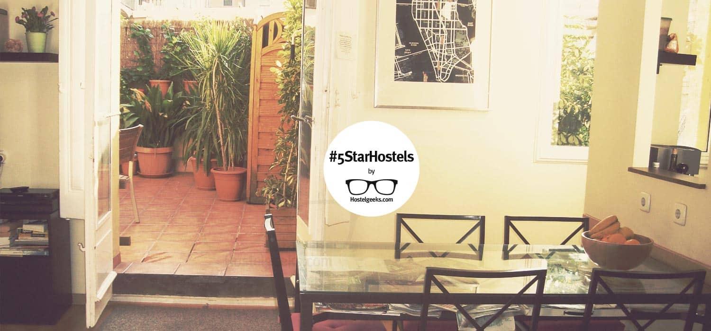 5 Star Hostel Barcelona Central Garden in Barcelona