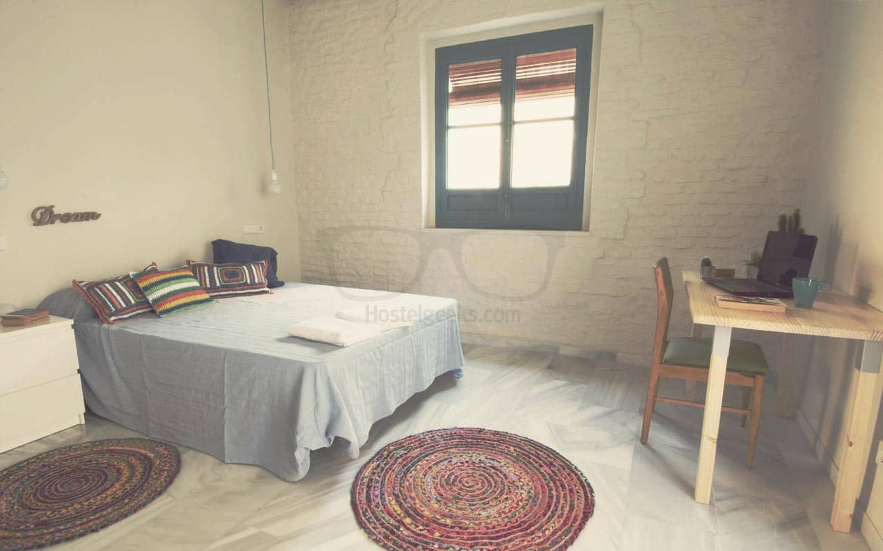 Private Rooms in Hostel Sevilla