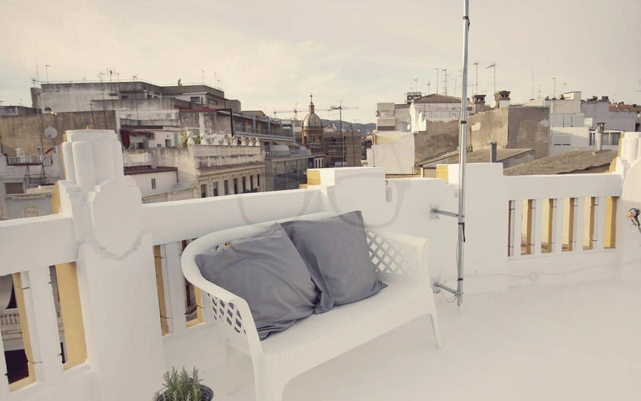 Cozy! Relax at the Roof Top Terrace in Córdoba!