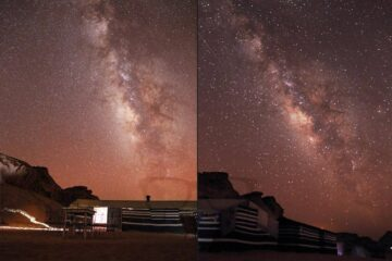 Shooting Stars in Wadi Rum (pun intended)