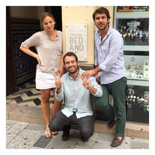Staff at Bed And Be in Cordoba - your friends welcome you home!