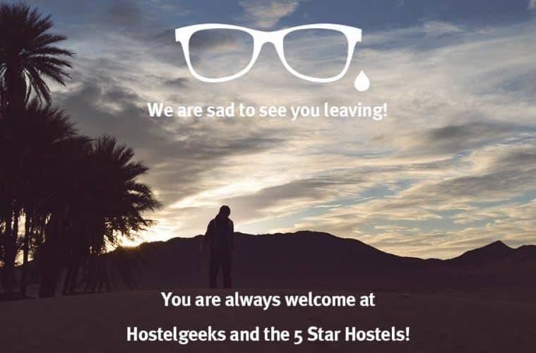 Never Stop Learning - You are always welcome at Hostelgeeks