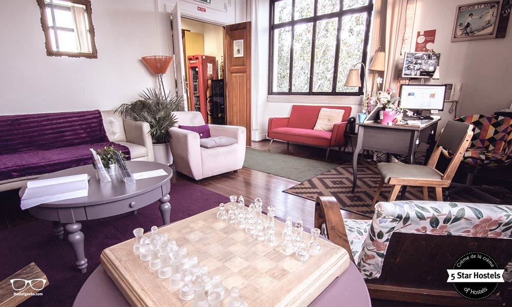 Who is for some chess? The common are at Sunset Destination Hostel