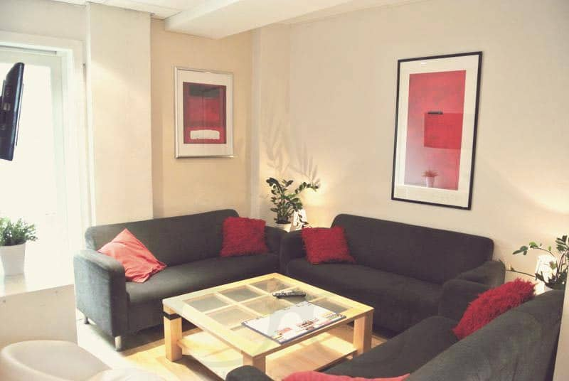 Living Room at Marken Gjestehus