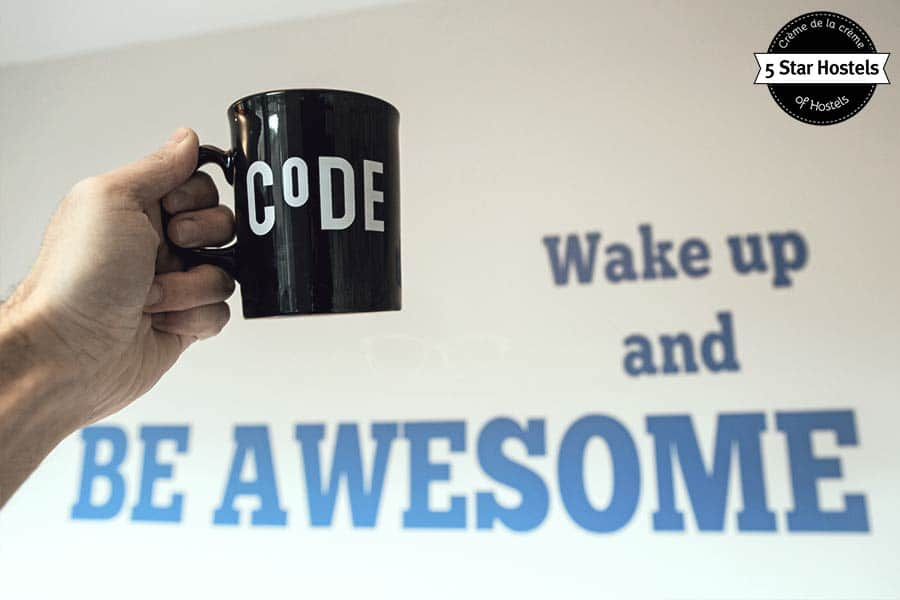 Wake up and be awesome! The CODE Hostel Apartment and Suite