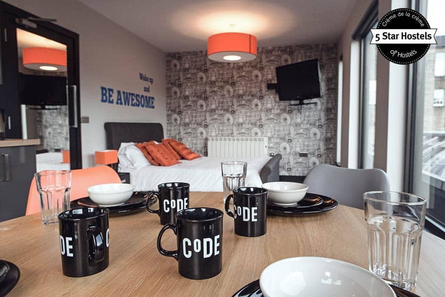 The Apartment and Suite at CODE Hostel