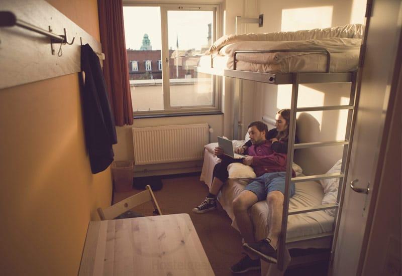 Cozy Hostel Rooms at Copenhagen Downtown Hostel