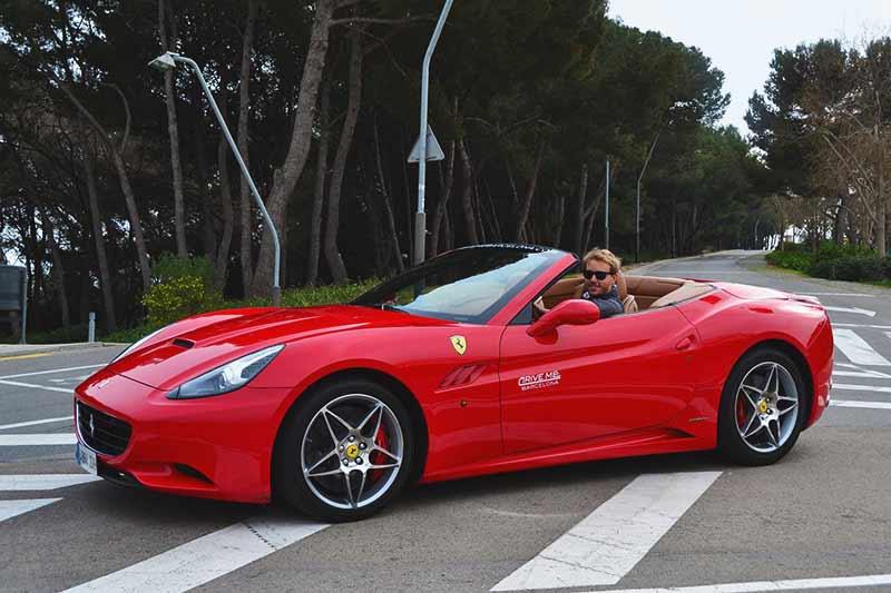 Drive a kick-ass Ferrari in Barcelona