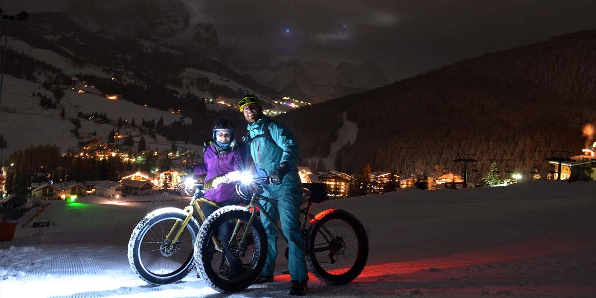 Fat-Bike with Ninja - my 3h Stars Tour in the Italian Alta Badia