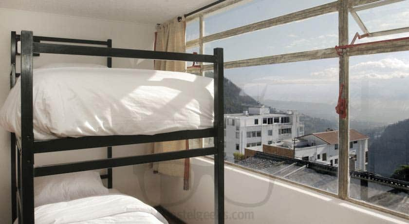 What a view from the dorms of BoutiQuito Hostel