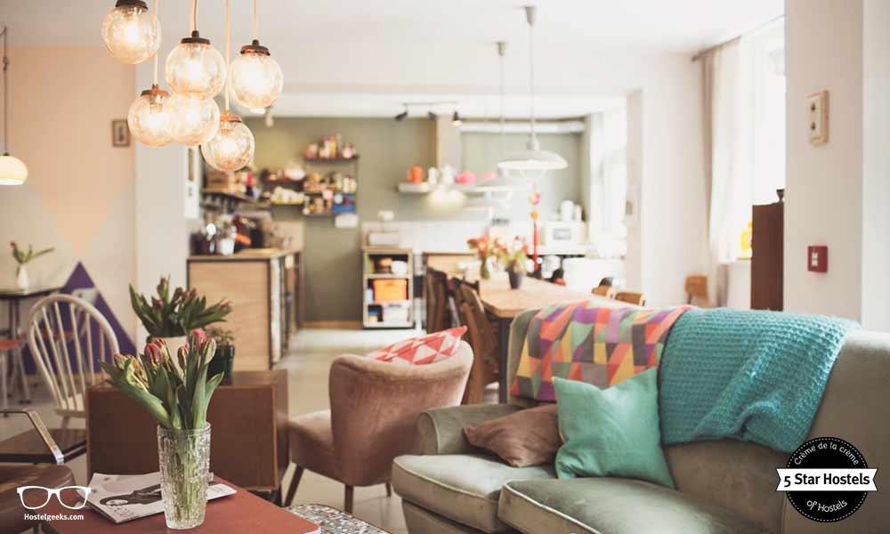Ani&Haakien Hostel in Rotterdam und die große Lounge zum relaxen