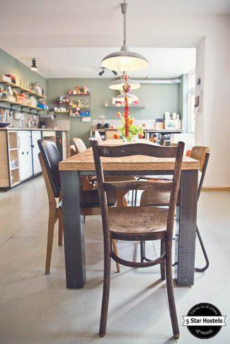 The Hostel Kitchen at Ani&Haakien Hostel