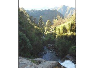 Cycling to a hidden Waterfall in Baños, Ecuador