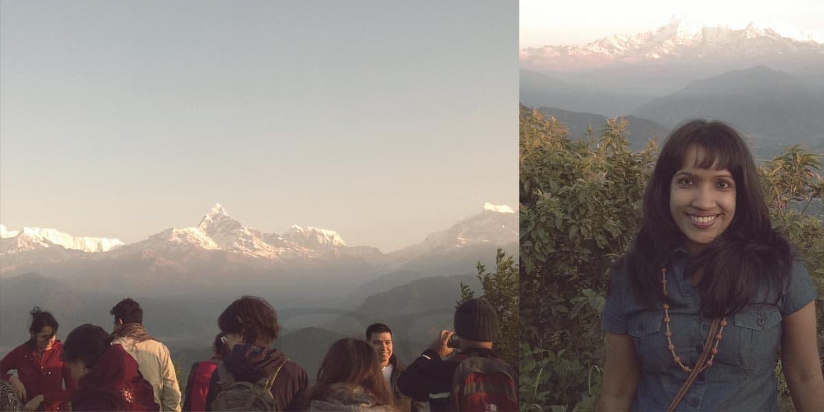 Sunrise at Worlds Deadliest Mountain Annapurna, Nepal