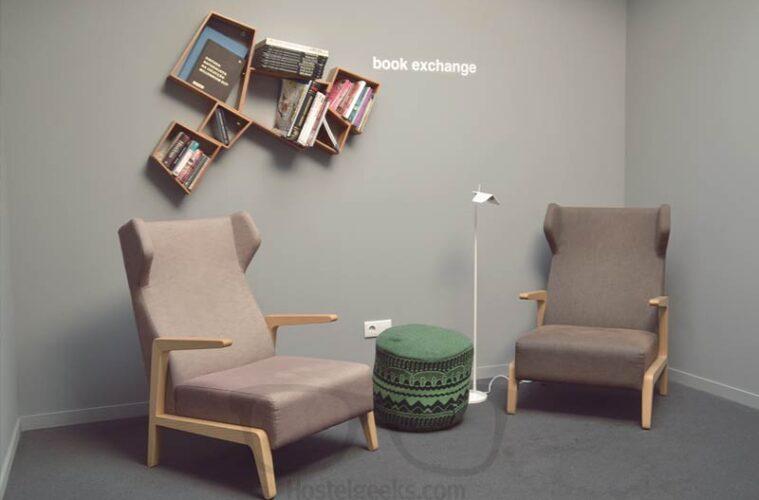 Hostel Book Exchange in Style at Tattva Design Hostel