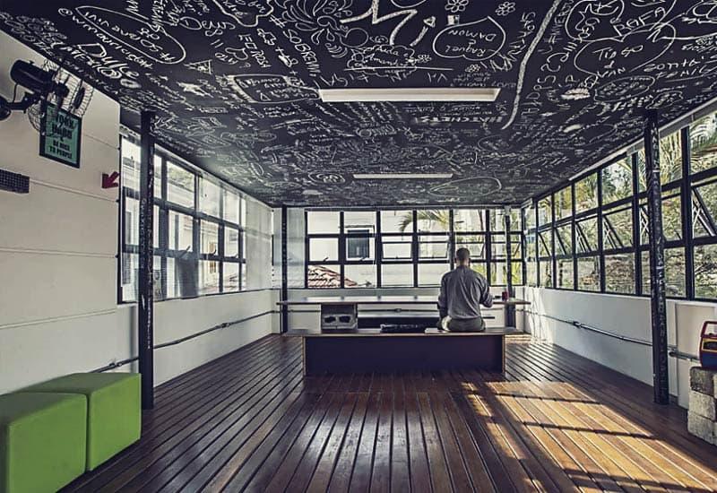 Innovation & Geeky Interaktivität - Einzigartig im WE Design Hostel